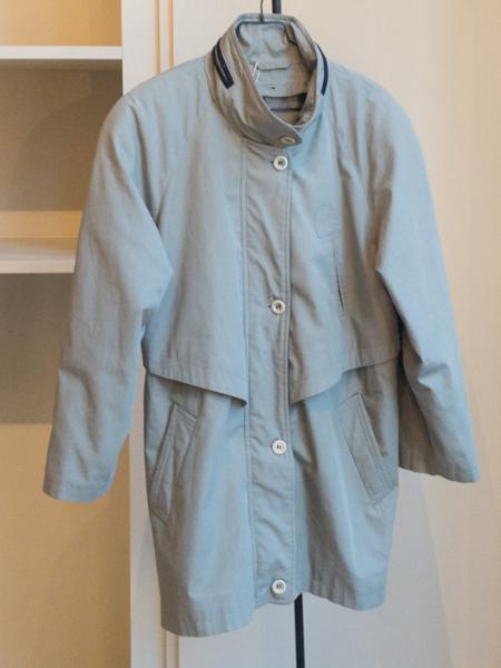 Vintage Oversized Coat - Grey