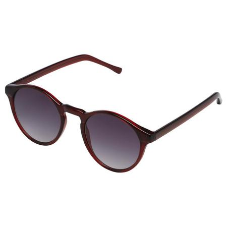 Unisex KOMONO Devon Sunglasses - Burgundy