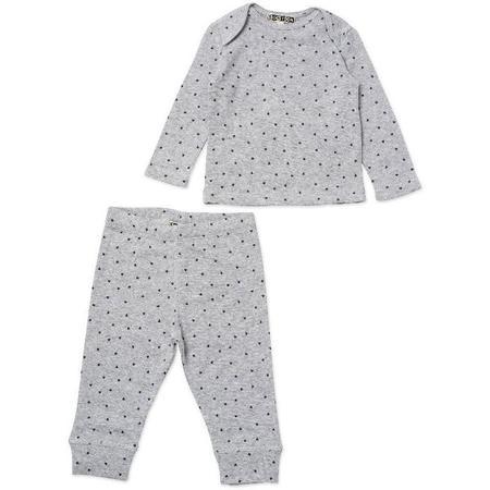 Kids Bonton Hearts Baby Lounge Set - Grey