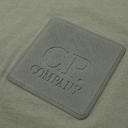 C.p. Company Metropolis Patch Logo Tee - Laurel Wreath