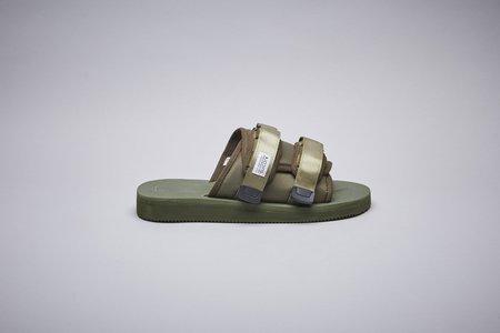 Unisex Suicoke Moto-Cab Sandal - Olive