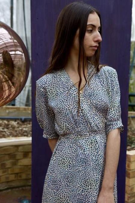 Soeur Malaga Dress - Cream/Black