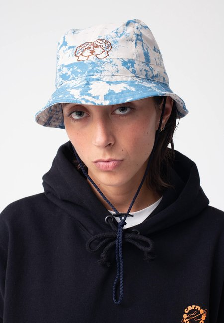 Unisex Carne Bollente Night Of The Giving Head Bucket Hat - allover