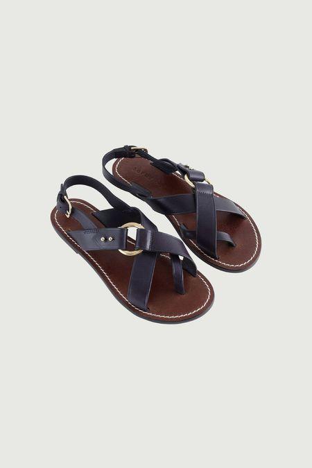 Soeur Florence Sandals - Navy