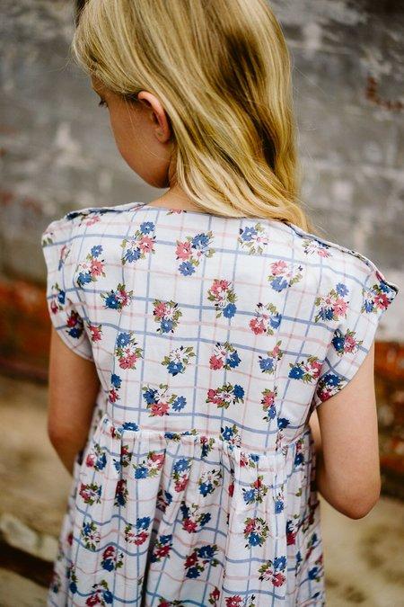 kids little cotton clothes Rosie Dress - Teatime Floral