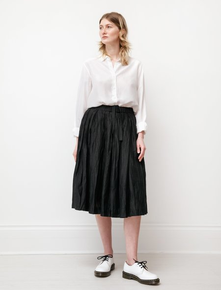 Casey Casey Womens Double Rideau Skirt - Linnet Black