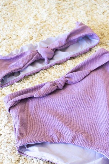 Mara Hoffman Abigail Bikini Top - Lavender
