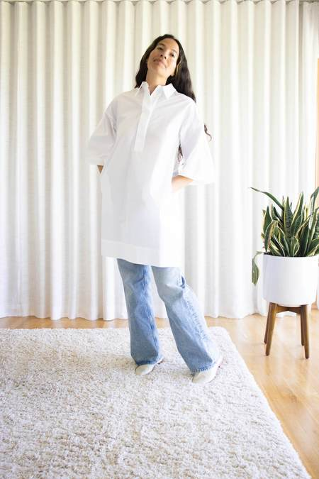 Odeeh Dress - White