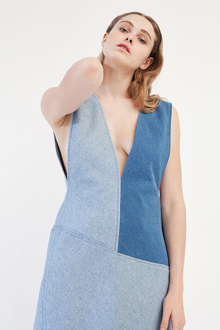 Öhlin/D Colorblock Shift Dress
