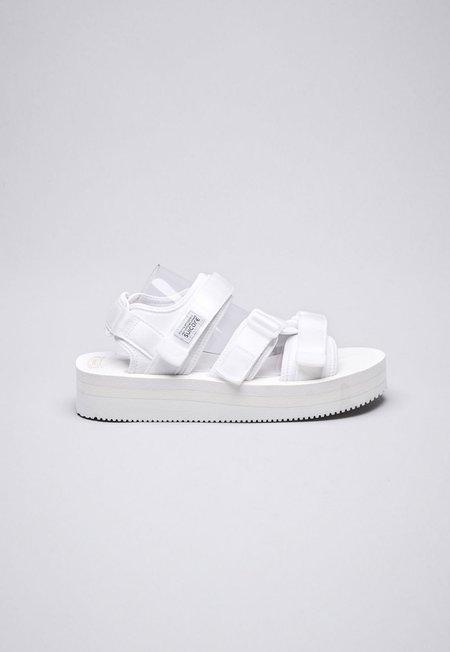 Suicoke Kisee-VPO Sandals - White