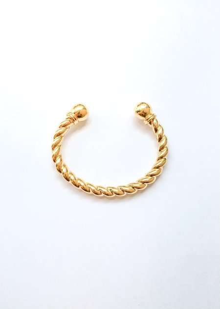 Sophie Buhai Rope Cuff - Gold