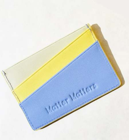 MATTER MATTERS Good Enough Multicolor card case -  Forget me not