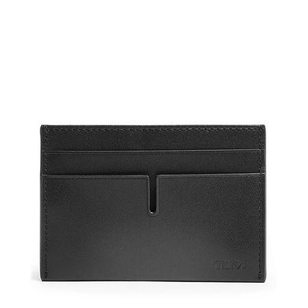 TUMI ID Lock™ Money Clip Card Case bag - Black