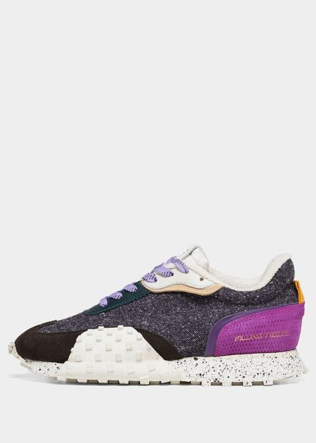 Filling Pieces Crease Runner - Wind Purple/Black