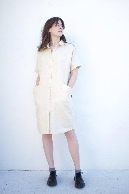 Valérie Dumaine Linwood Dress - Natural