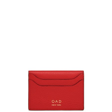 OAD Billy Card Case - Classic Red