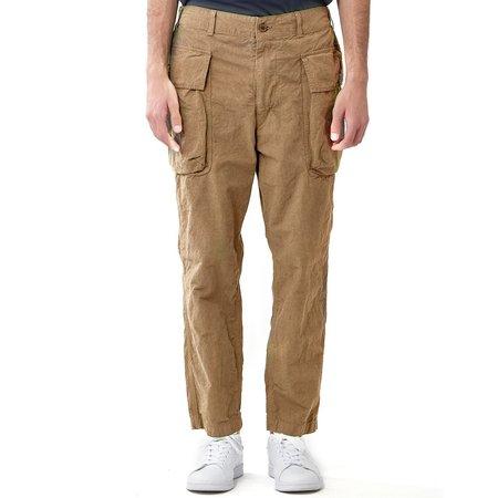 Sage de Cret Military Cargo Pants - Beige