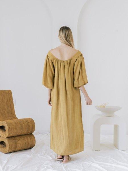 LAUDE the Label Cleo Dress - turmeric
