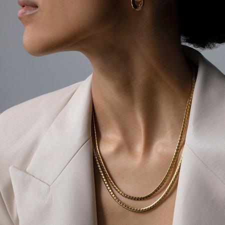 Jenny Bird Priya Double Strand Necklace - Gold