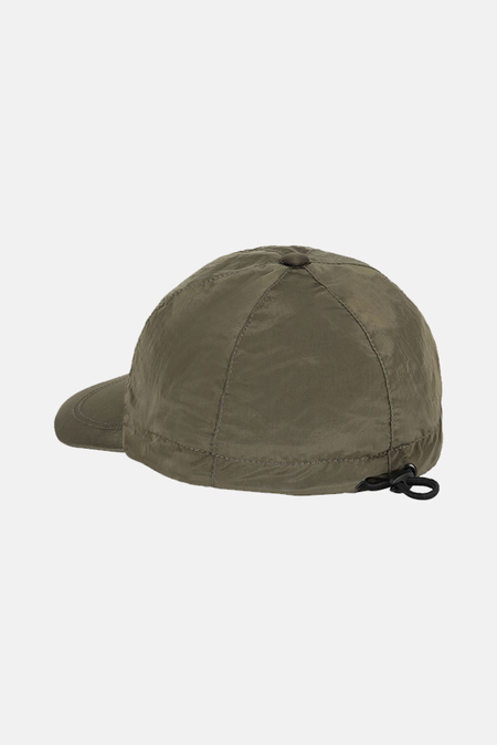 Stone Island Nylon Metal Cap - Green