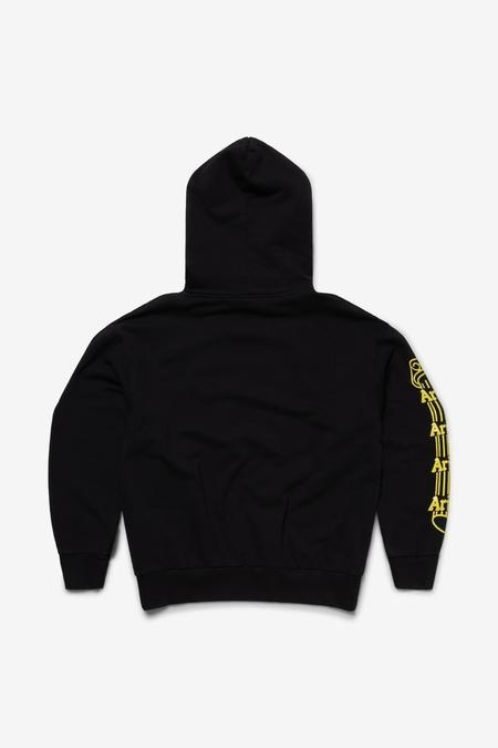 Aries Arise Temple Hoodie sweater - black