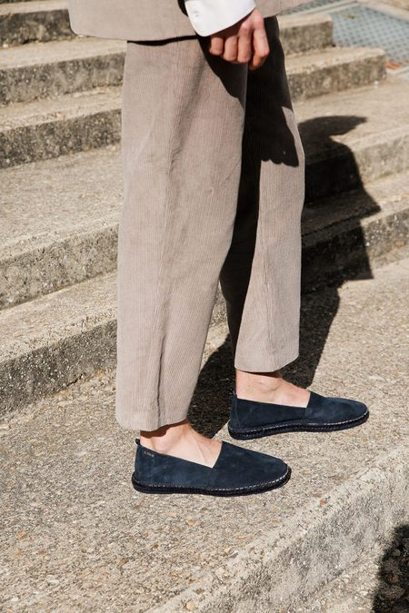 ACT SERIES Arven M Suede shoes - Navy blue