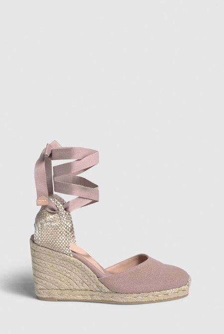 Castaner Carina Wedge espadrille - Dusty Pink