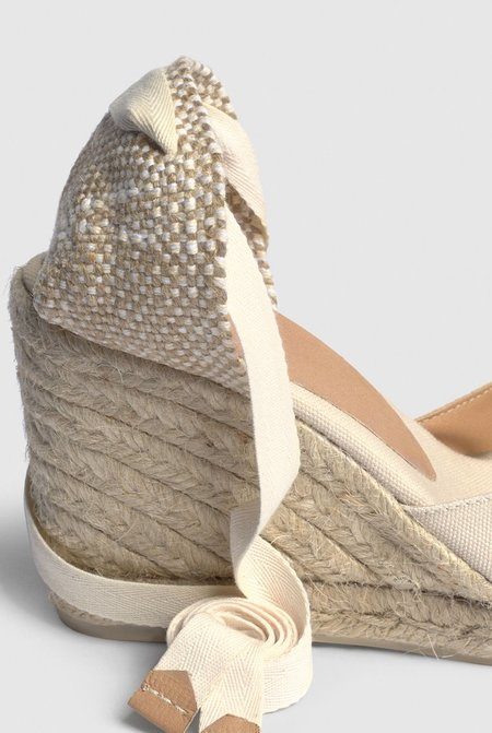 Castaner Carina Espadrille with wedge - Ivory