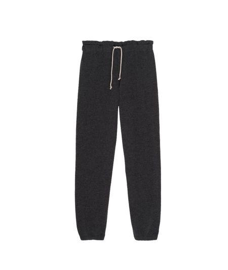 Donni. Vintage Fleece Gemstone Sweatpant - Charcoal