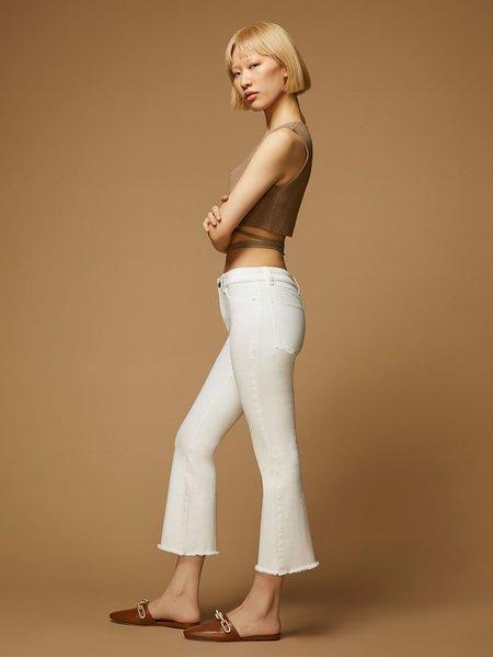 DL1961 Bridget Cropped High Rise Instasculpt Boot pants - Napa