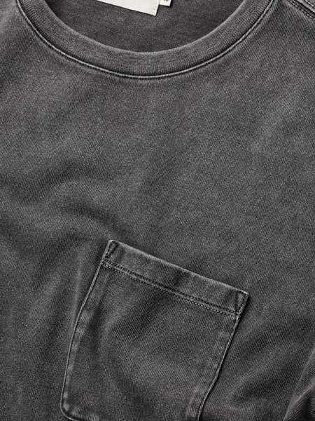 Taylor Stitch Heavy Bag Tee - Charcoal