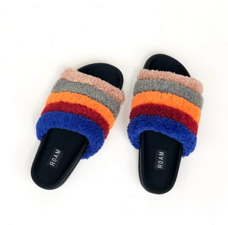 Roam Brite Pillar Sandals - Rainbow