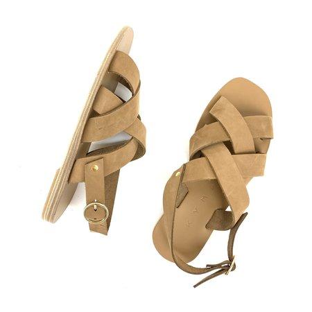 Kyma Oinousses Square Sandal - Light Brown