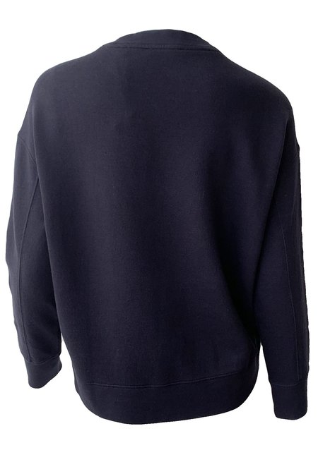 VINCE Essential Relaxed Pullover - Coastal Blue