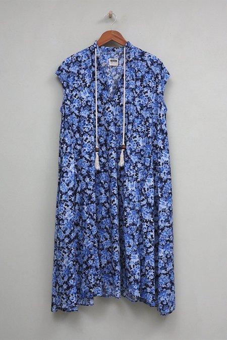 UQNATU Dervish Dress - Blue Floral