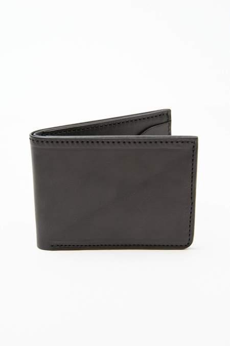 Tory Leather BiFold 6 Slot Wallet - Black