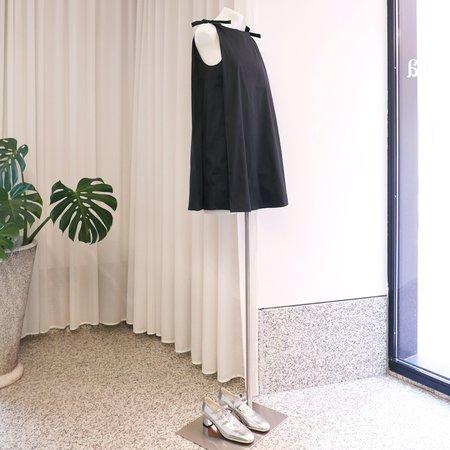 BERNADETTE Mary Tafetta Mini Dress - Black