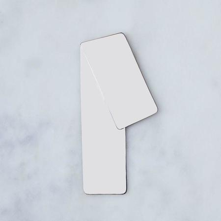 Wms & Co. Angled Bookmark