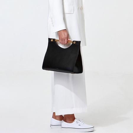 Flynn Riley Handbag - Black