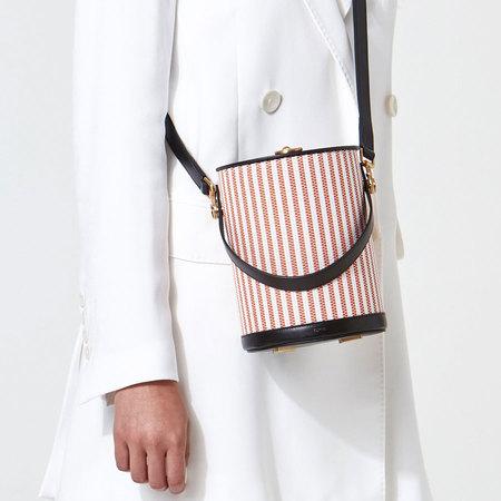 Flynn Parasol Handbag - Rosso