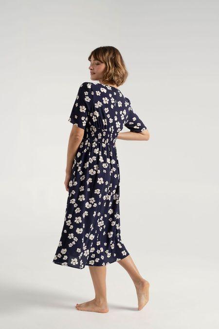 Baum und Pferdgarten Avari Dress - Patriot Blue Floral