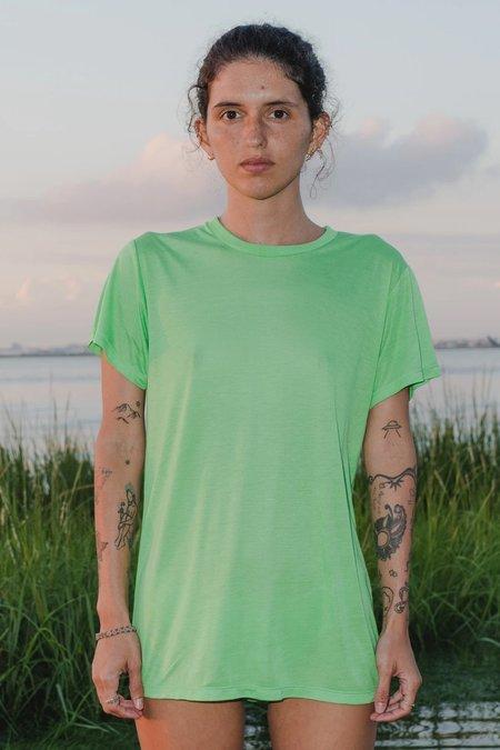 Baserange Bamboo Tee Shirt - Ara Green