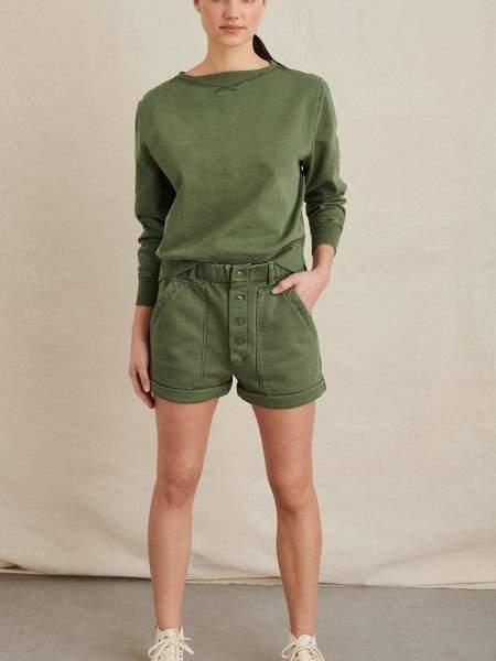 Alex Mill Lakeside Short - Army Green