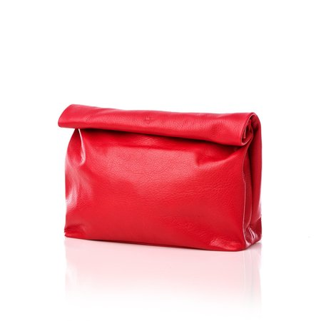 Marie Turnor THE LUNCH Bag - CHERRY RED