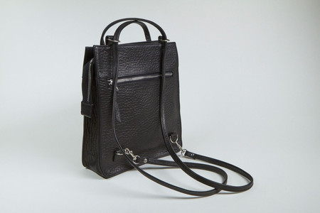 Clyde Best Bag in Black Pebble Leather