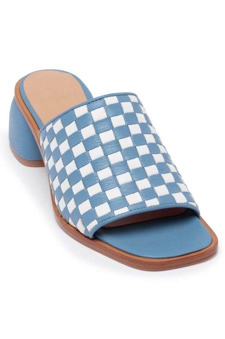 Paloma Wool Chess Sandal - Light Blue/White