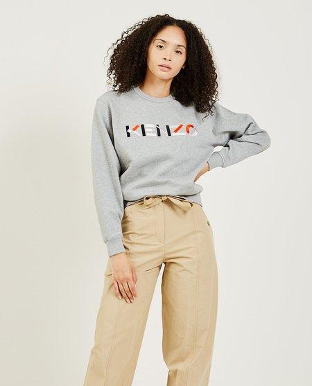 Kenzo Logo Sweater - Grey