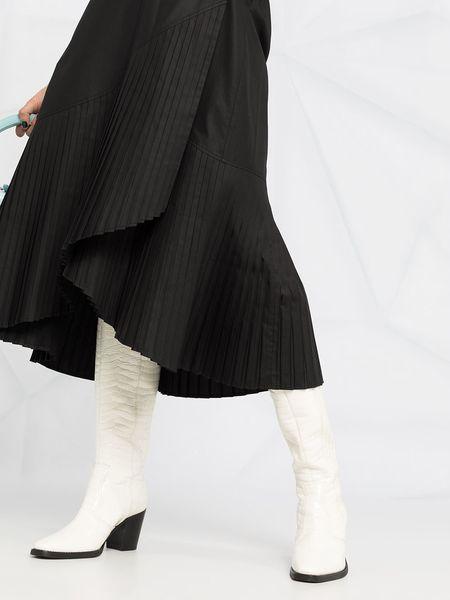 Henrik Vibskov Blaze Skirt Plissé - Black