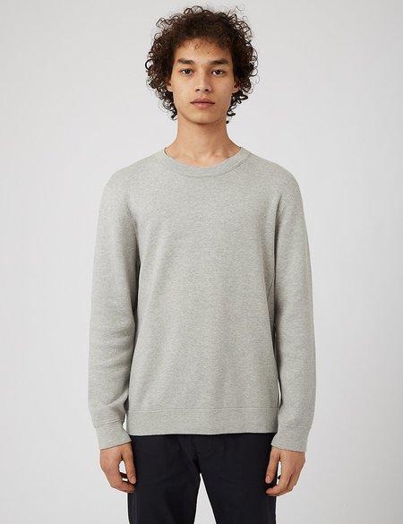 NN07 Luis Sweatshirt - Light Grey Melange