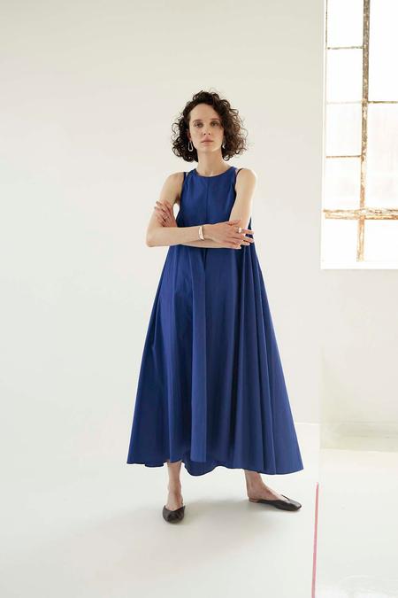Sayaka Davis Double Strap Dress - Lapis Blue
